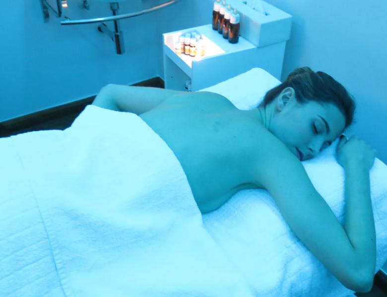 Masaje aromaterapeutico relax La Cabina de Verónica